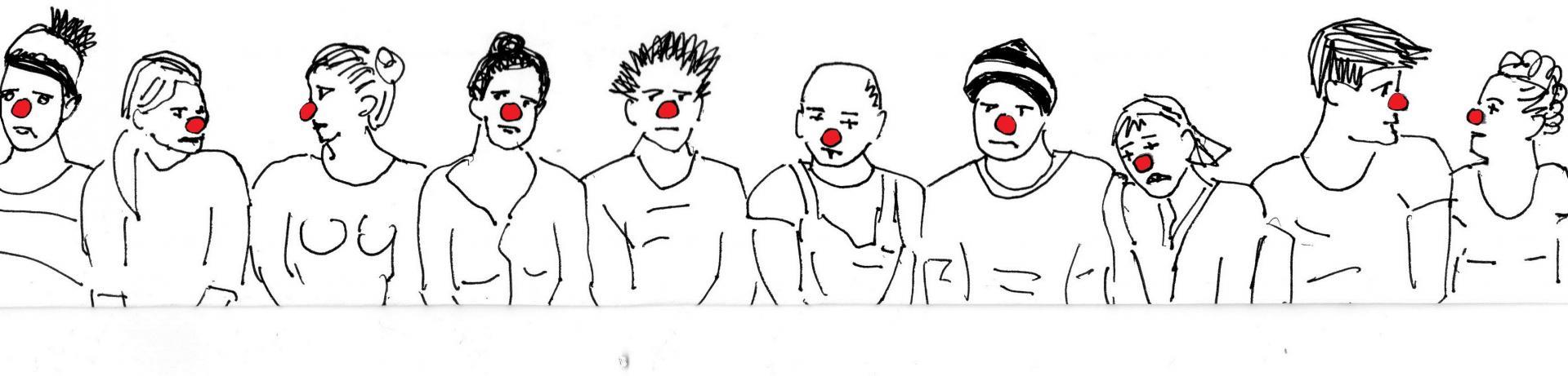 Fresque clown 1